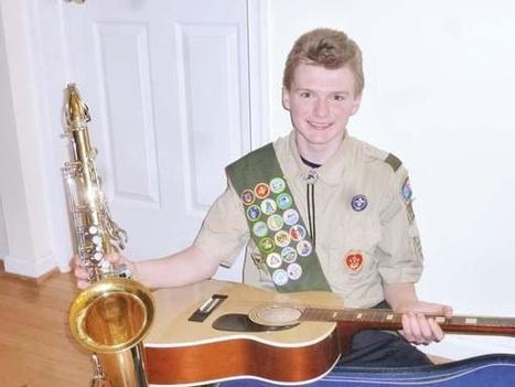 His Eagle Scout project is to collect old musical instruments - Delco News Network   Eagle Scout Project   Scoop.it