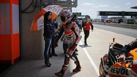Marquez leads from Iannone in FP2 | Ductalk Ducati News | Scoop.it