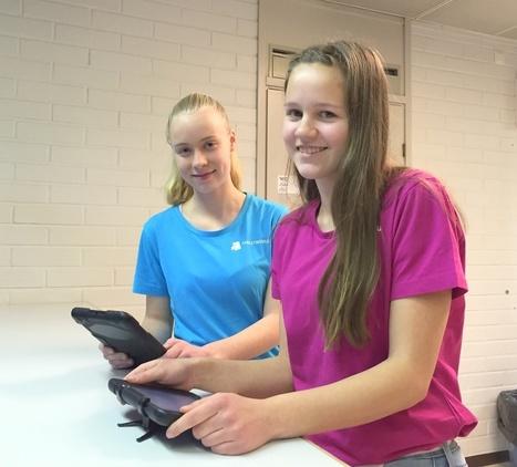 Tableteilla opiskelu on aktiivista, hauskaa ja vastuullistavaa | Turun Seutusanomat | Digital TSL | Scoop.it