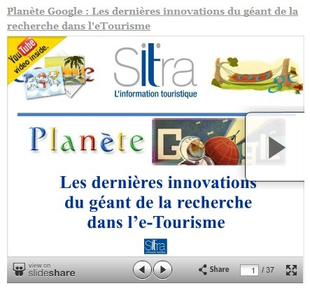 Les dernières innovations de Google dans l'eTourisme. Menace ou opportunité ? | etourisme | Scoop.it