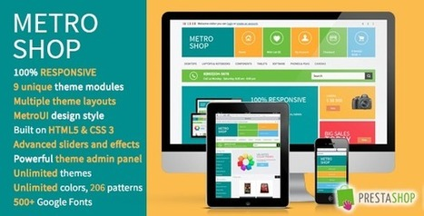 MetroShop – Premium Responsive PrestaShop theme! | PrestaShop Development | Scoop.it