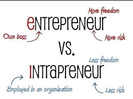 IMPORTANCE OF INTRAPRENEUR IN AN ORGANIZATION - Find Nerd | Intrapreneur, intrapreneurship | Scoop.it