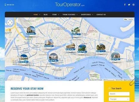 Best Travel WordPress Themes of 2015 - WebCreate.Me   Professional WordPress Themes Designs   Scoop.it