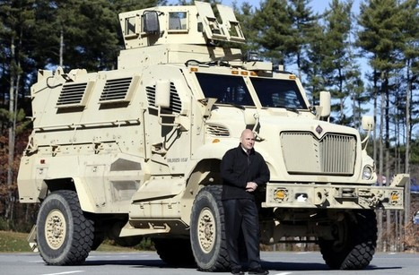VIDEO: California City Tells Police To Have Plan For Getting Rid Of MRAP Military Vehicle In Next 60 Days | Sustain Our Earth | Scoop.it