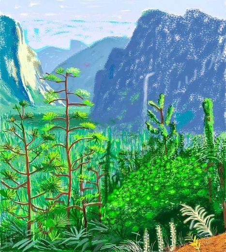 Why Artist David Hockney Snubbed Apple | Macwidgets..some mac news clips | Scoop.it