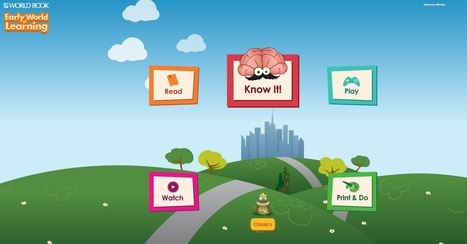 Early World of Learning (World Book) | Elementary College & Career Readiness Tools | Scoop.it