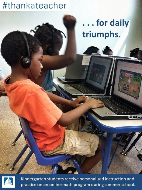 Twitter / BlendedDCPS: #thankateacher for personalized ... | Education Tech & Tools | Scoop.it