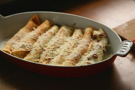 Crespelle gorgonzola e radicchio | Made in Italy Flavors - Luxury Wines, Truffle, Caviar | Scoop.it