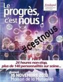 Le progrès, c'est nous ! - Anne LALOU - Toile à tisser | innovations techologies | Scoop.it