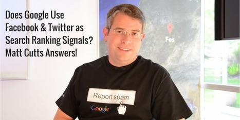 Does Social Media Affect SEO? Matt Cutts Answers | SEO and Social Media Marketing | Scoop.it