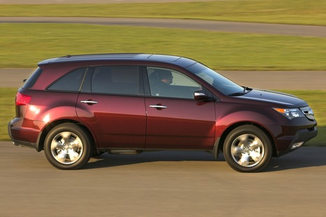 2008 acura mdx red | high definition cars wallpapers | Scoop.it