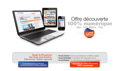 La Provence a lancé sa version payante, à découvrir gratuitement pendant 15 jours | Les médias face à leur destin | Scoop.it
