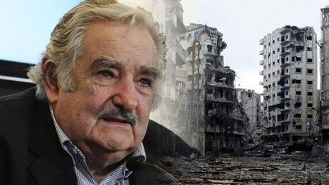 """Mujica: """"El único bombardeo admisible para Siria es con leche en polvo y galletas""""   Saif al Islam   Scoop.it"""
