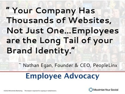 4 Convincing Reasons Why Employee Advocacy Should Begin on LinkedIn | Mentalist | Scoop.it