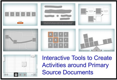 7 Excellent Interactive Tools to Create Activites Around Primary Source Documents ~ Educational Technology and Mobile Learning | Technology and language learning | Scoop.it