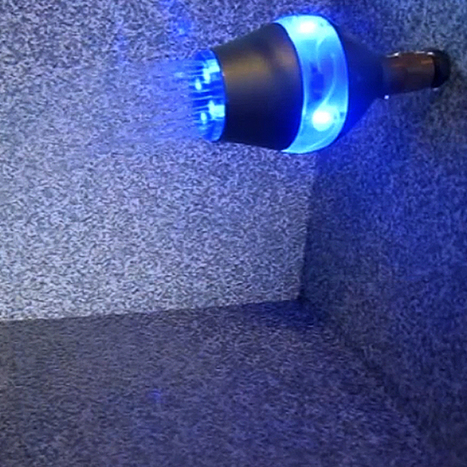 Light-up showerhead quietly nags you if you've been in there too long | Troy West's Radio Show Prep | Scoop.it