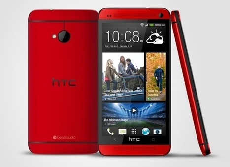 HTC One in 'Glamour Red' now available in the UK through Phones4U | Android Discussions | Scoop.it