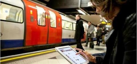Le WiFi gratuit dans le métro à Paris dès la semaine prochaine | Stepone-fr | Scoop.it