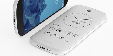 YotaPhone's new white dual-screen, e-ink-equipped smartphone brings a price drop | e-paper - e-ink - le papier électronique - écran flexible | Scoop.it
