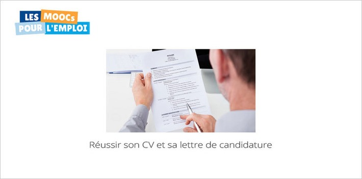 Réussir son CV et sa lettre de candidature... le 3e MOOC Pôle Emploi commence aujourd'hui | MOOC Francophone | Scoop.it