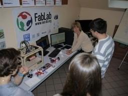 Biarne. Un jeudi après-midi de découverte au FabLab - Net-Village   Fab(rication)Lab(oratories)   Scoop.it