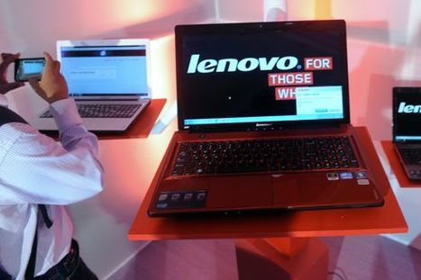 Le chinois Lenovo, premier fabricant mondial de PC | Actus Lenovo France | Scoop.it