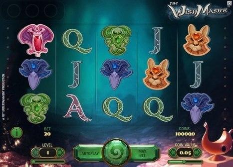 New Wish Master slot online | Online Slots | Scoop.it