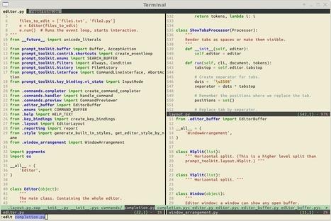 jonathanslenders/pyvim | Python-es | Scoop.it
