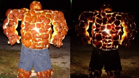 The Thing from The Fantastic Four made out of pumpkins is sort of genius | Comic Books | Scoop.it