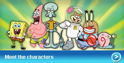 Nickelodeon | SpongeBob SquarePants | Games | Videos | Contests | Events | Downloads | Shows | My Favorite Cartoon Figures | Scoop.it