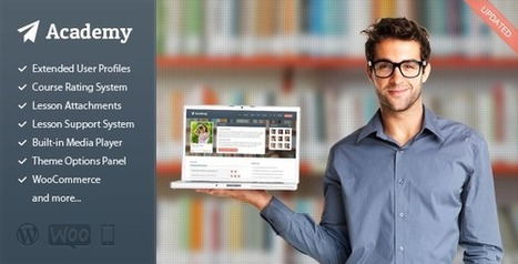 Academy - Learning Management Theme | Latest Wordpress Themes | Scoop.it