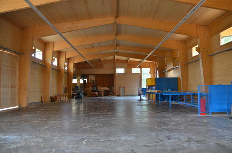 CLT and the Future of Wood: The Timber Revolution Comes to Industrial Architecture | Sustainable Forestry | Scoop.it