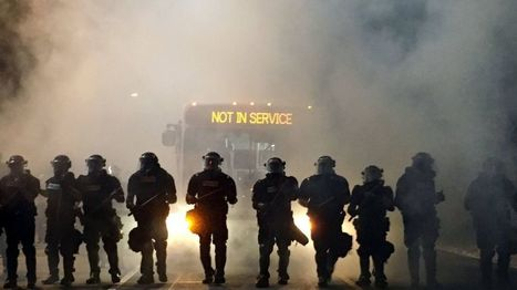 Charlotte protests: Police injured after black man shot - BBC News | Upsetment | Scoop.it