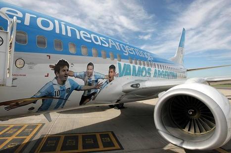 Aerolíneas Argentinas sumará vuelos a Río de Janeiro para la final ... - Los Andes (Argentina) | FLETAMENTO DE AVIONES Y VUELOS CHARTER | Scoop.it