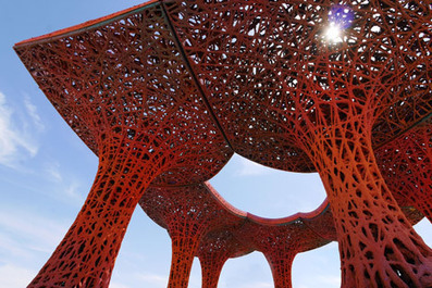 Pavilion for Coachella music festival made from paper pulp | retail and design | Scoop.it