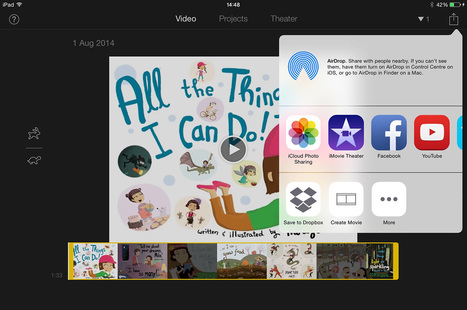 How to customise your book in iMovie - Book Creator app | Blog | Integrating Technology in World Languages | Scoop.it