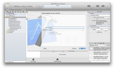 Tutorial: Parsing HTML On With The Objective-C LibXML Wrapper Hpple | Iphone ipad development | Scoop.it