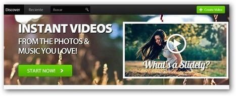 Slide.ly, aplicación web para crear presentaciones de fotos en vídeo | LOS PRIMEROS 50 AÑOS DE MINDY | Scoop.it