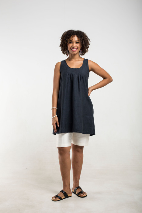 smoke black linen top | 2014 Collection | Scoop.it