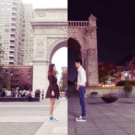 Couple In Long Distance Relationship Creates Adorable Combo Pics To Remain Connected | xposing world of Photography & Design | Scoop.it