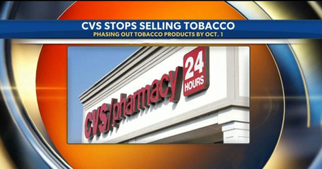 CVS to stop selling cigarettes Oct. 1 | Tobacco news | Scoop.it