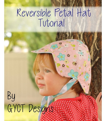 Free pattern: Reversible petal hat for baby | Sewing | CraftGossip.com | yarn crafts such as knitting crocheting knooking and machine knitting | Scoop.it