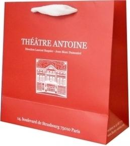 Le sac publicitaire réalisé pour le Théâtre Antoine à Paris   Sac luxe publicitaire   Scoop.it