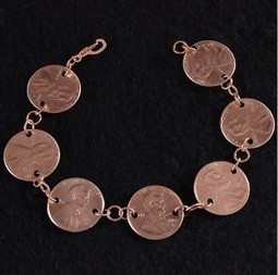 Jewelry making idea with coins | artisan jewelry | Scoop.it
