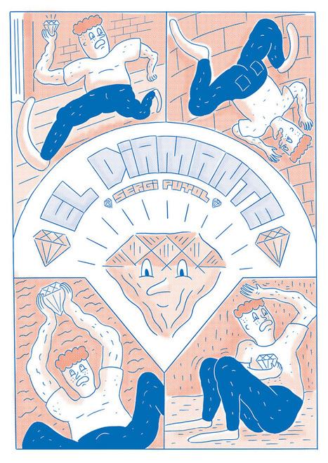 El Diamante #1 - Ayer - TIKTOK cómics | Cómic independiente y nuevos ilustradores | Scoop.it