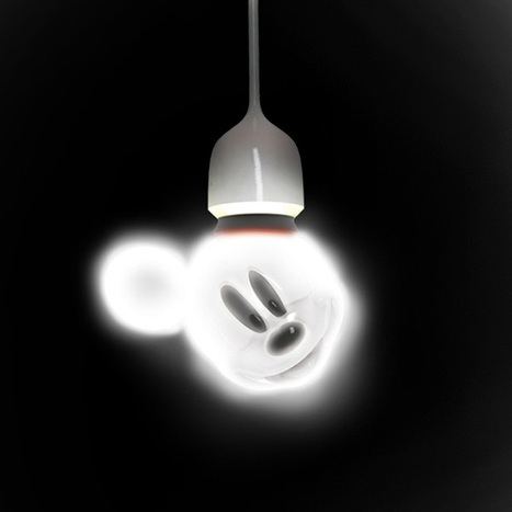 Mickey Mouse Bulb Concept   All Geeks   Scoop.it