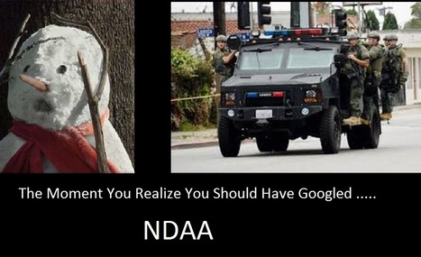 """‏@trutherbot  #NDAA: Obama, or any future administration, can imprison YOU without trial or access to lawyer. Signed into law Dec 31, 2011. Google it."" 