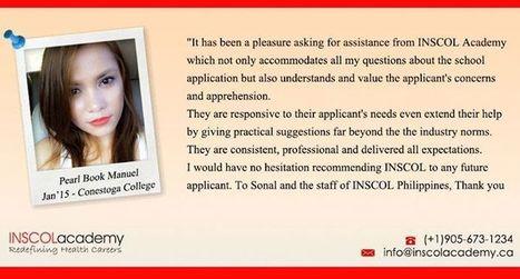 Student Testimonial - INSCOL Academy Canada. | INSCOL Academy Canada | Scoop.it