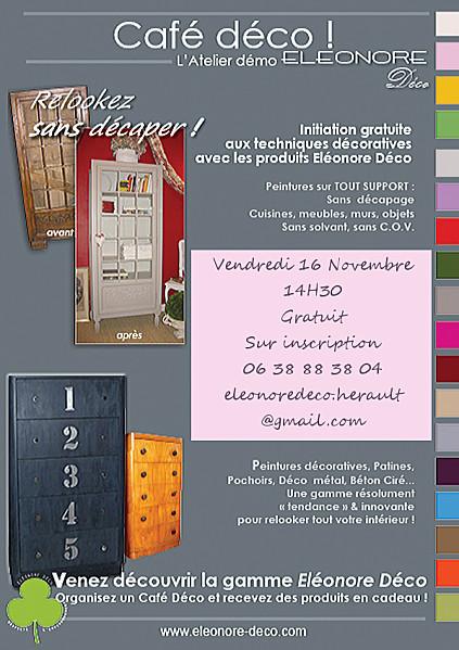 Initiation gratuite au relooking sans décapage avec eleonore deco | Gite et Landes | Scoop.it
