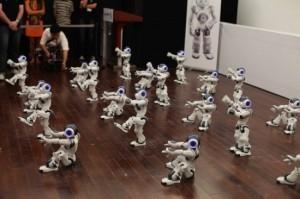 Even a group of dancing robotics can be complex | Robots and Robotics | Scoop.it